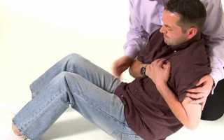 Первая помощь при сердечном приступе и боли в сердце: алгоритм действий