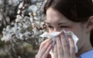 Какие растения-аллергены цветут в Крыму?