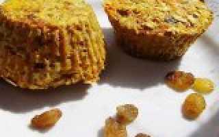 Овсяные кексы на безмолочной основе для аллергиков